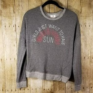 Gray sweatshirt from sundry anthropology size 0